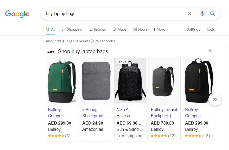 EMS-Google Shopping