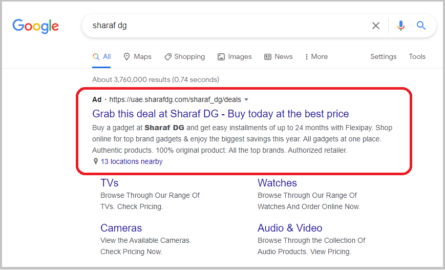EMS-Google search-1