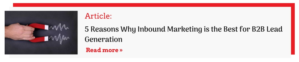 Why Inbound Marketing is the best