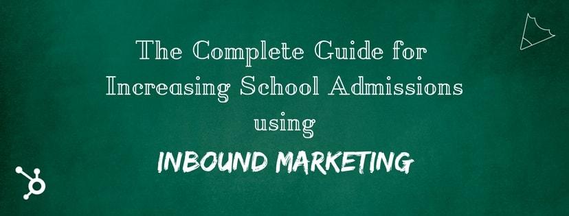 School Inbound Marketing cover