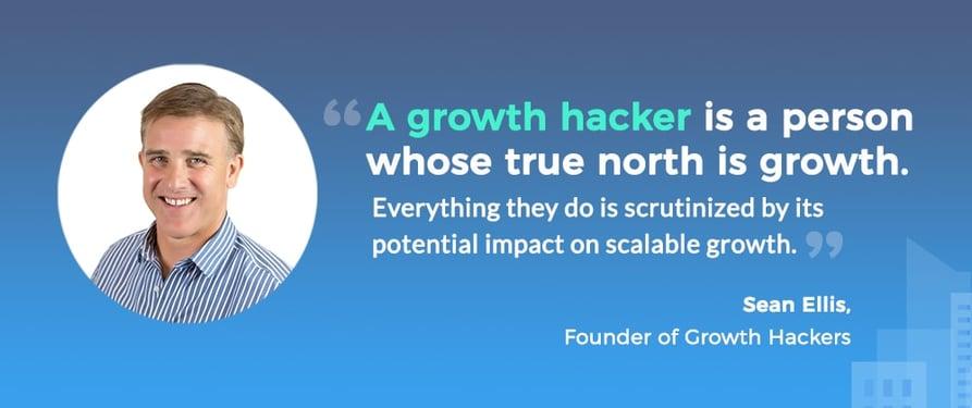 Một Growth Hacker là người mà kim chỉ nam của họ là phát triển