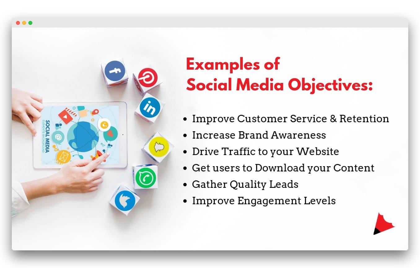 Social Media Objectives