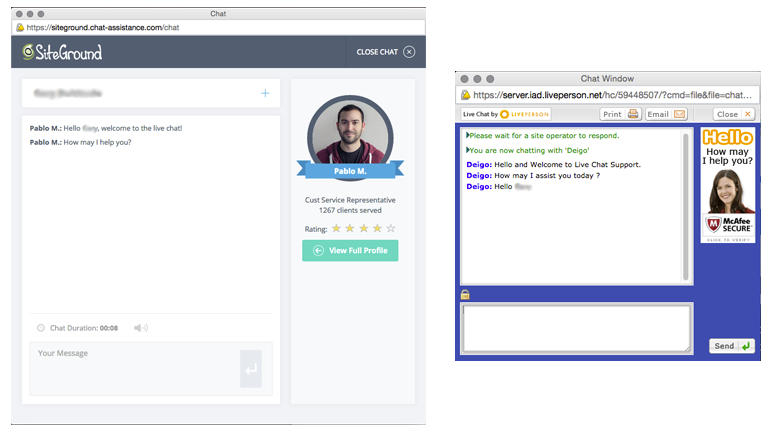 customer-livechat-examples