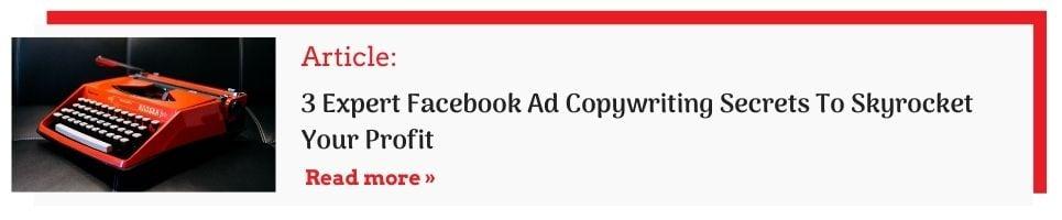 facebook ad copywriting cta